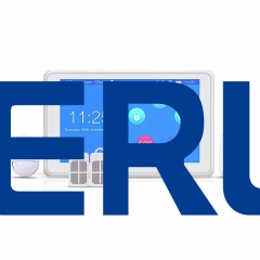2016 Hottest/Newest product of KERUI K7 Fully Touch Screen WIFI GSM home security Alarm System