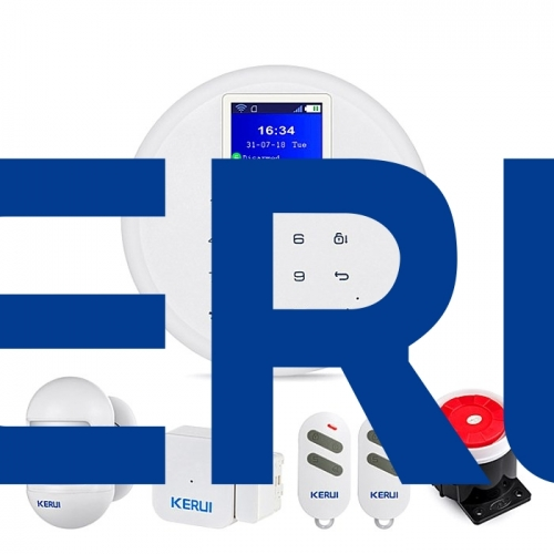 New KERUI Mobile Control AP Linkage WiFi 2G 3G 4G GSM Home Security Alarms for home