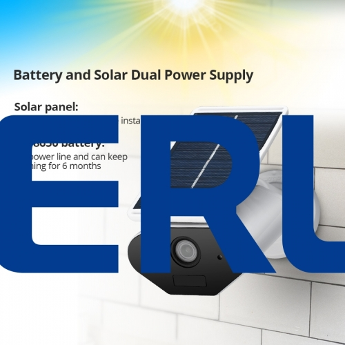 HD 960P WiFi Solar Power Camera Waterproof 1.3MP WiFi IP Surveillance Bullet Camera
