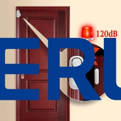 KERUI Door/Window Entry Security Burglar Sensor Alarm PIR Door Magnetic Smart Home Wireless Alarm System Security