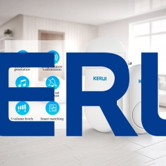 KERUI M518 self generation wireless home smart remote control battery-free doorbell
