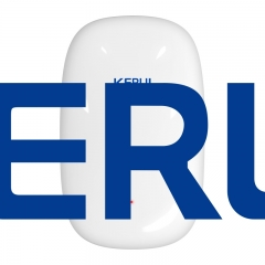 2019 KERUI Vibration Sensor Detector Door Shock for Wifi GSM Smart Home Alarm System